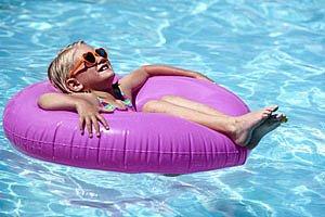 Maechen Schwimmreifen Sonnenbrille