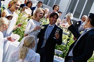 Rede auf Hochzeit