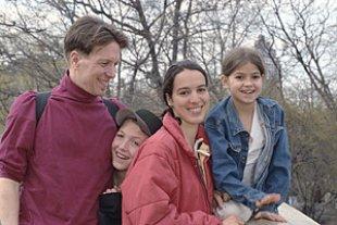 Familie im Park 2