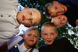 Gruppe Kinder