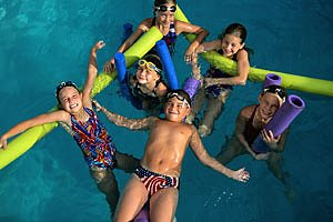 Kinder Schwimmbad