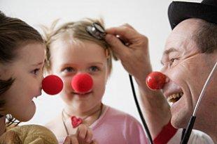 Clown Kinder Stethoskop