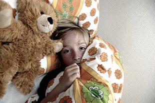 Junge Angst Bett