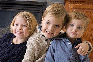 drei Geschwister