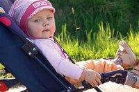 Baby im Buggy panther J W Pilsak