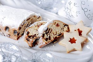 Stollen Weihnachten panther Ingrid Balabanova