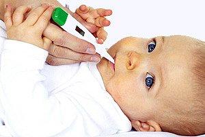 Baby Fieber messen