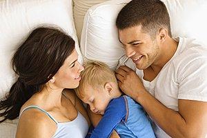 Eltern Kind Bett