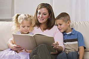 Mutter Sohn Tochter vorlesen