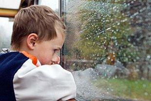 Junge langweilig Fenster panther Jens Ferchland