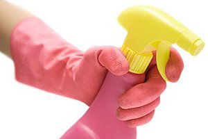 Putzmittel Spray