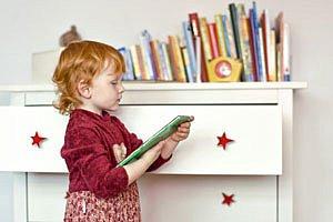 Maedchen Buch Kinderzimmer Panther T Ix