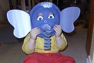 Mottopartyl Elefantenmaske Moeller