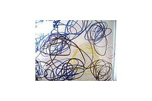 Kinderbild Kleinkind Spiralen