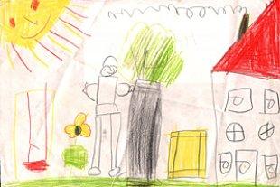 Gemalte Kinderbilder was kinderzeichnungen verraten urbia de
