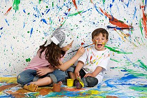 Malen Kinder