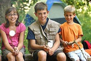 Kinder Reise Zelt Marshmallows