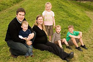 Grossfamilie modern