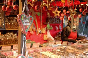 Weihnachtsmarkt Stand