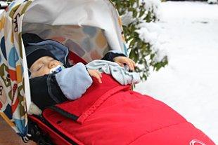 Leo Rubin Schnee Terrasse
