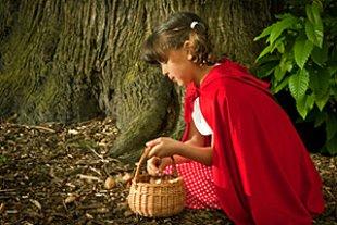 Märchen Mädchen Rotkäppchen