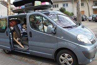 Auto vollgepackt Rubin
