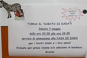 Notizzettel Samstag Zebra