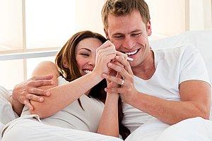 Paar Bett Ovulationstest