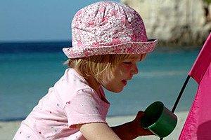 Urlaubsfoto Kind