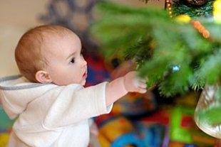 Baby Geschenke Weihnachtsbaum