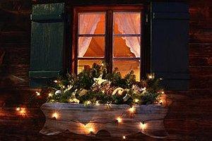 Weihnachten Dekoration Haus