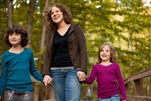 Allereinerziehende Mutter Töchter