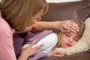 Mutter Tochter krank