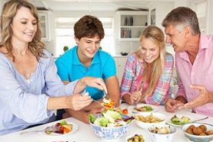 Teenager besseres Essverhalten