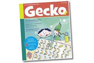 Cover Gecko Weihnachten