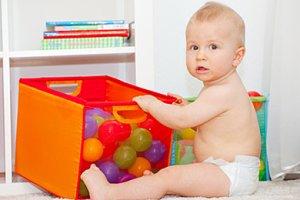 Baby sitzen Entwicklung