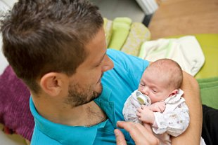 Vorfreude Vaterschaft