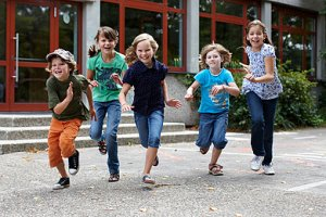Schulkinder Generation ADHS
