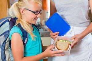 Schulkind Brotdose