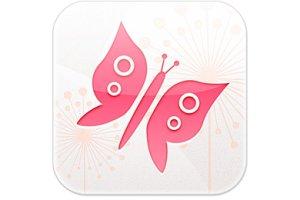 App-Icon Schmetterling