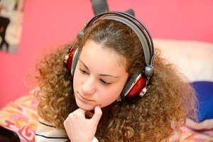 Teenager Kopfhörer