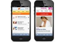 Mobile Seiten urbia.de eltern.de