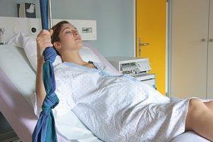 Frau Wehen Krankenhaus