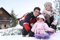 Familie Skiurlaub