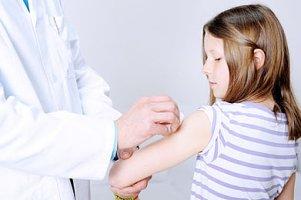 Mädchen Impfung