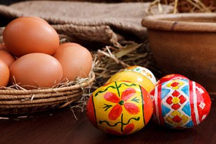 Ostereier Meldung Resteverwertung