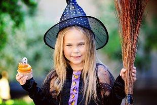 Mädchen Halloween Party