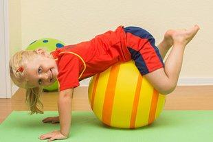 Kind Gymnastik Ball