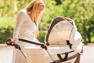Mutter Kinderwagen