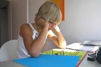 Schulkind Hausaufgaben Versetzung Teaser